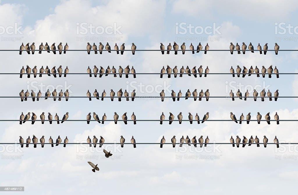Group Management stock photo
