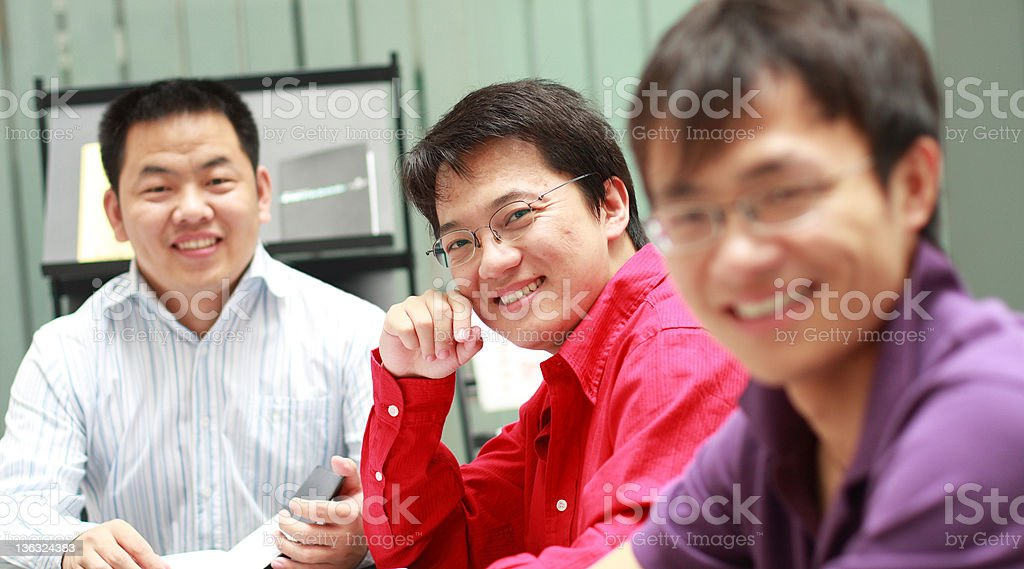 group meeting royalty-free stock photo
