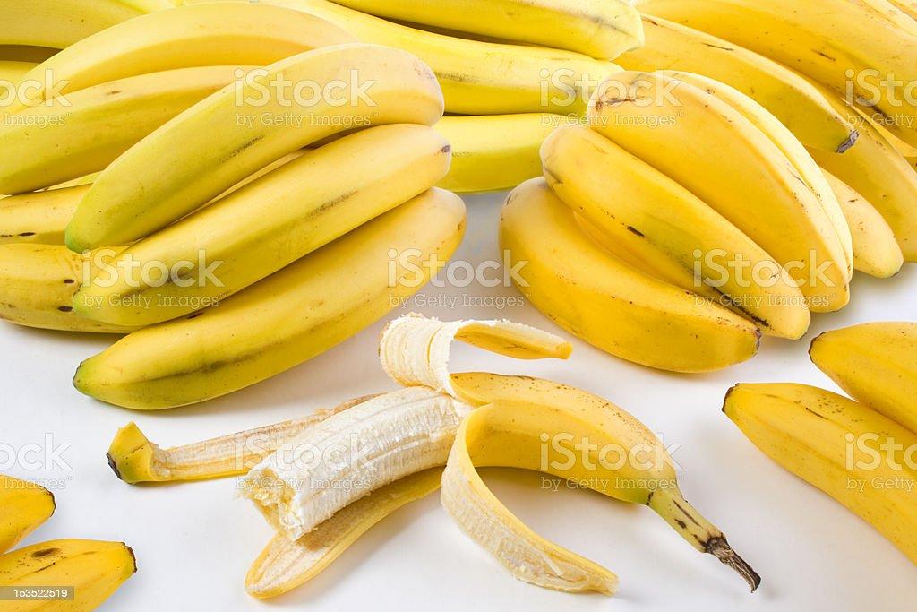 Group of bananas royalty-free stock photo