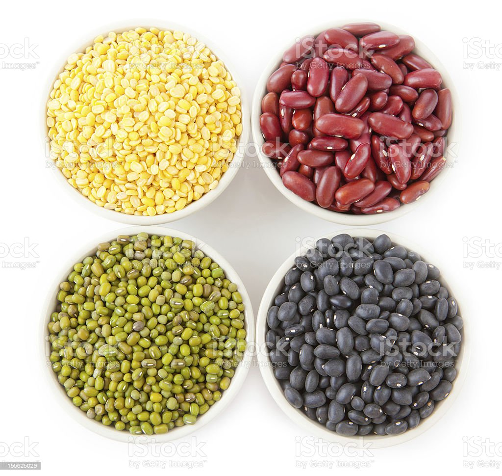 Group of beans royalty-free stock photo