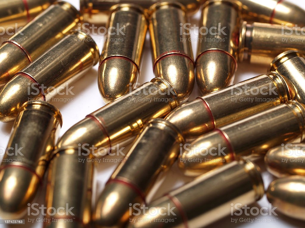 Group of Bullets stock photo