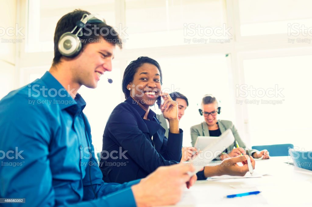 Group of business people at seminar, meeting, education stock photo