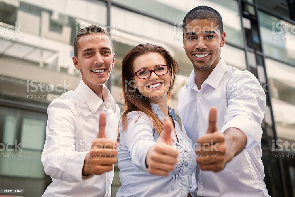 Group of business people. stock photo