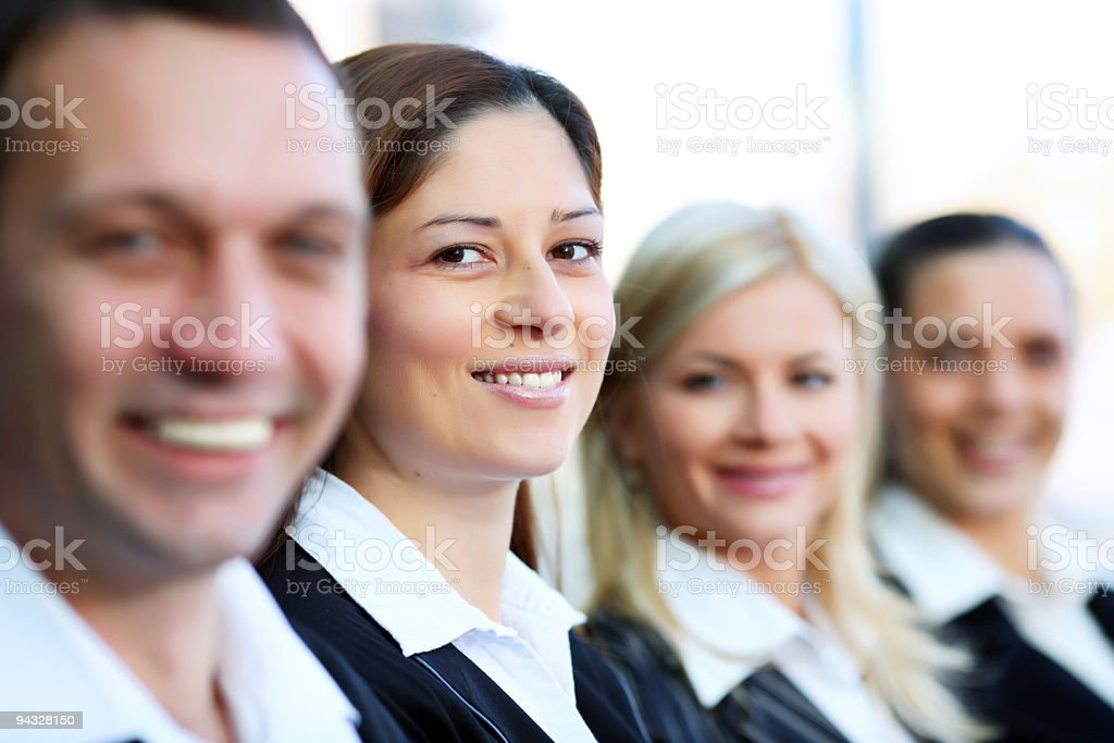Group of business people. royalty-free stock photo