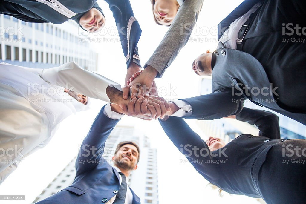 Group of Business Team stock photo