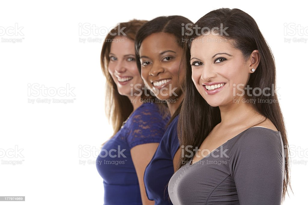 group of casual women royalty-free stock photo
