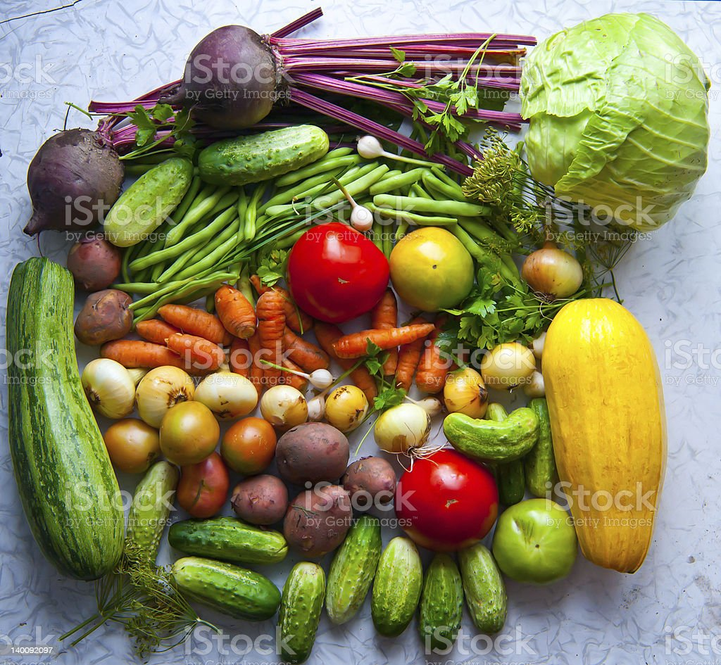 Group of different vegetables. royalty-free stock photo
