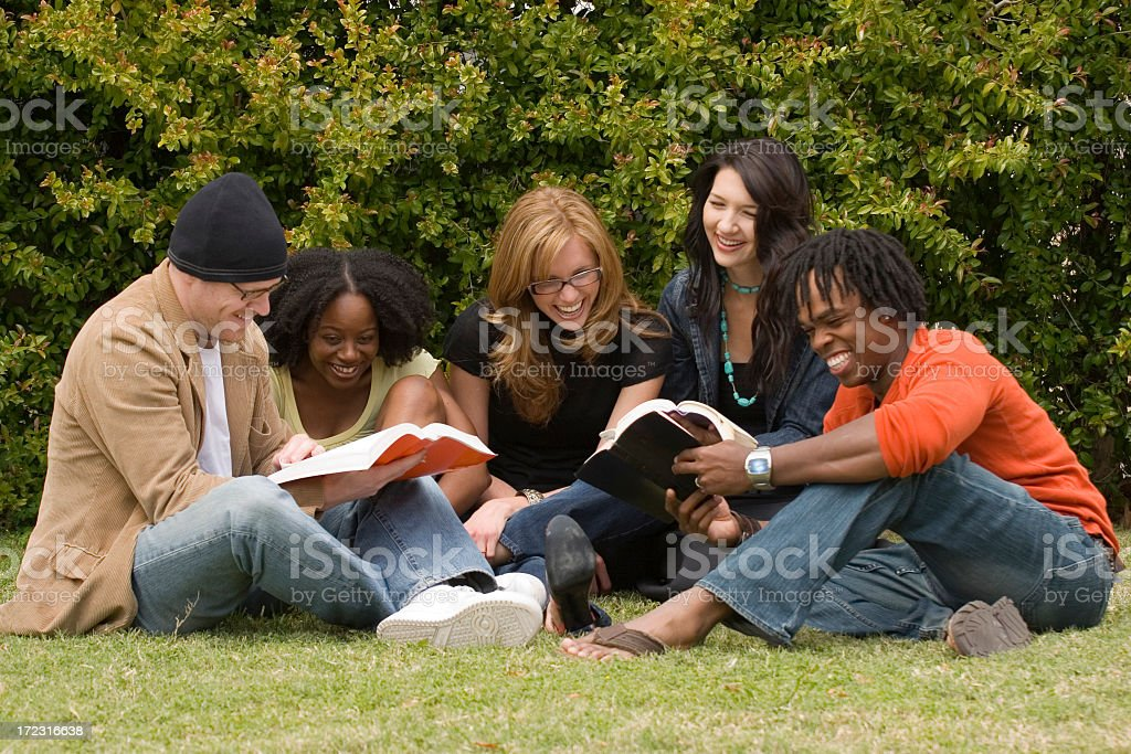 Group of Diverse Friends stock photo