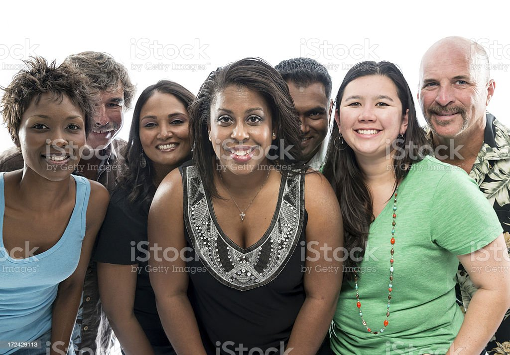Group of Diverse People royalty-free stock photo