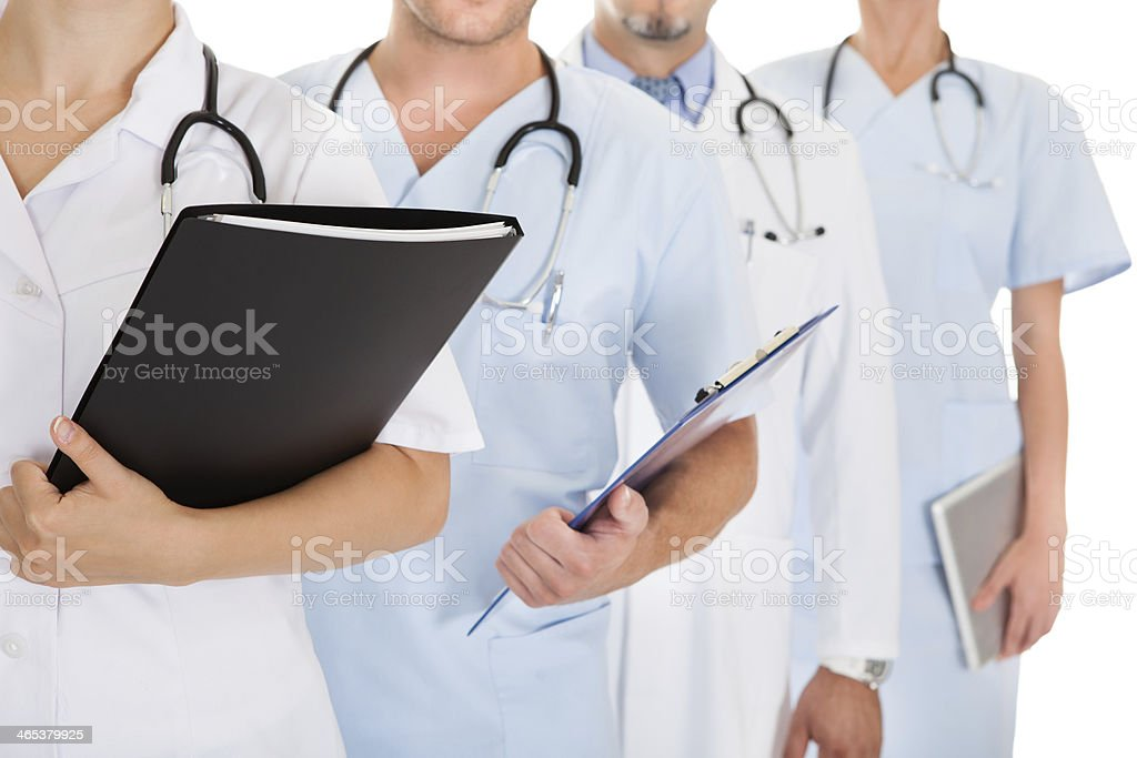 Group Of Doctors stock photo