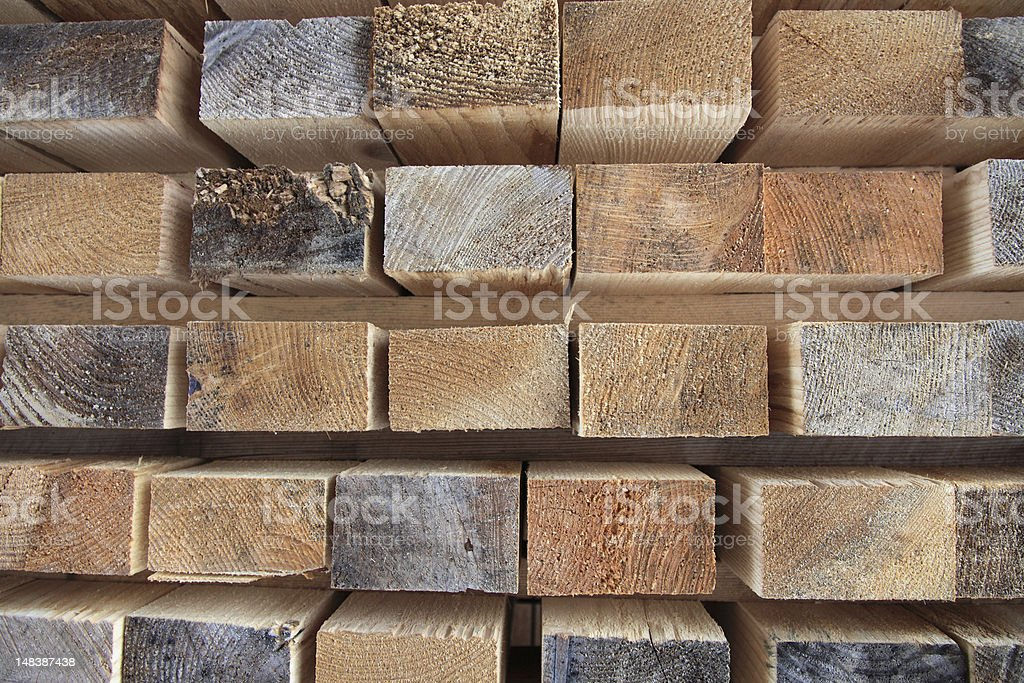 group of freh cut shelfs boards royalty-free stock photo