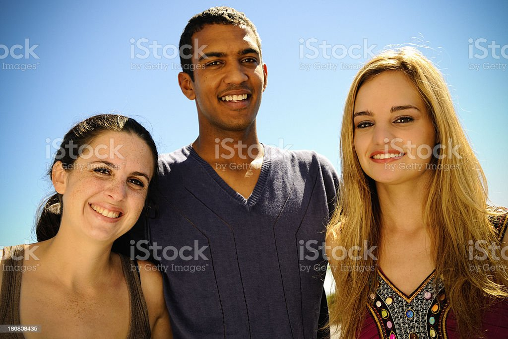 Group of Friends stock photo