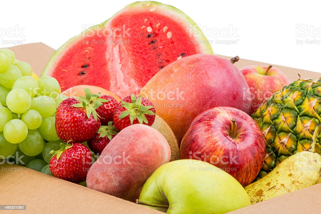 Group of fruit stock photo