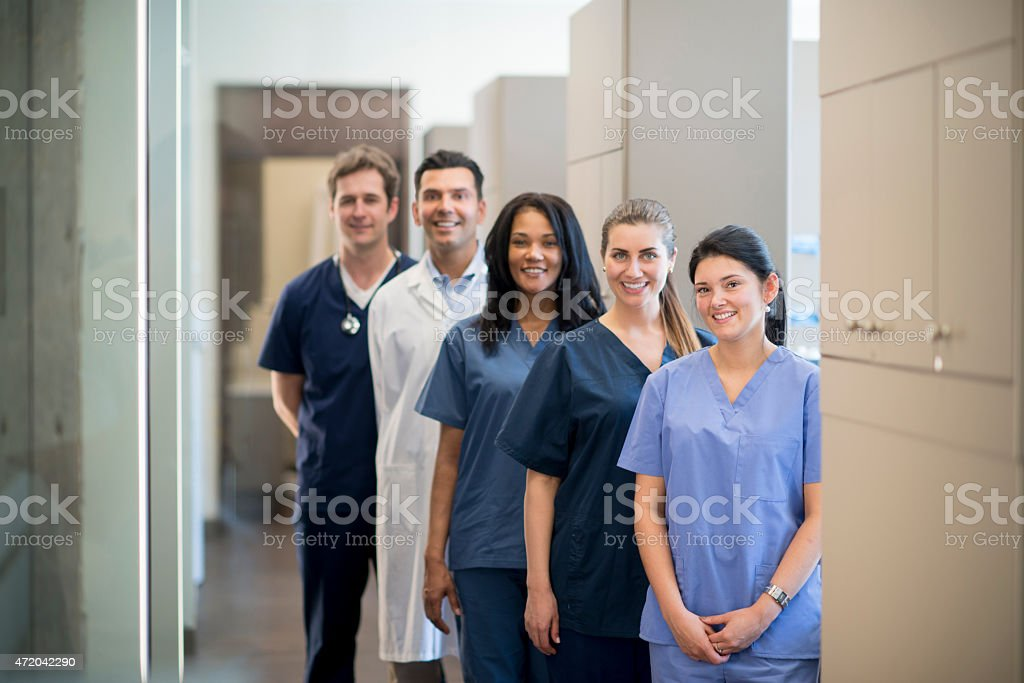 Group of Health Professionals stock photo