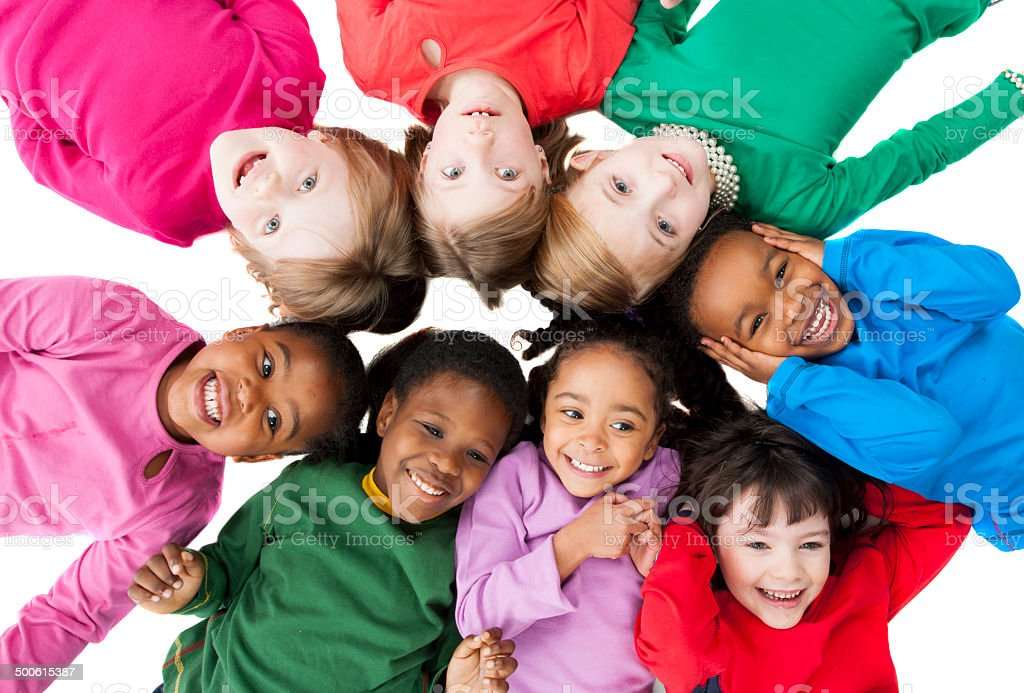 Group of Kids stock photo