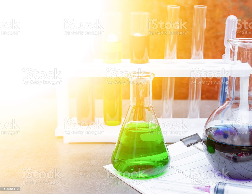 Group of laboratory. stock photo