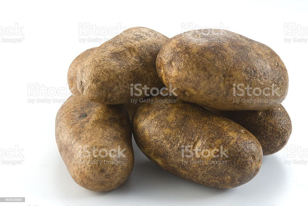 Group of Mexican Potatoes royalty-free stock photo