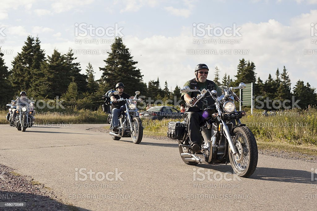 Group of Motorcycles Riding stock photo