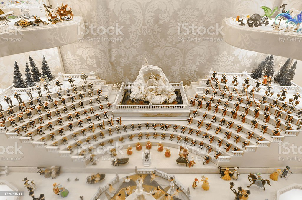 Group of orchestra royalty-free stock photo