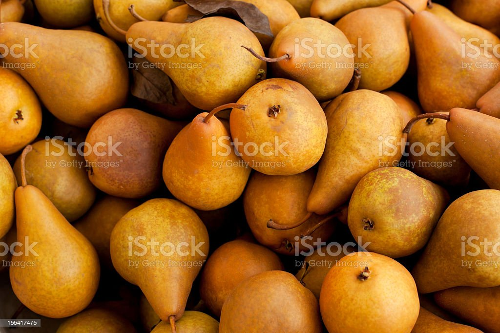 Group of Pears stock photo