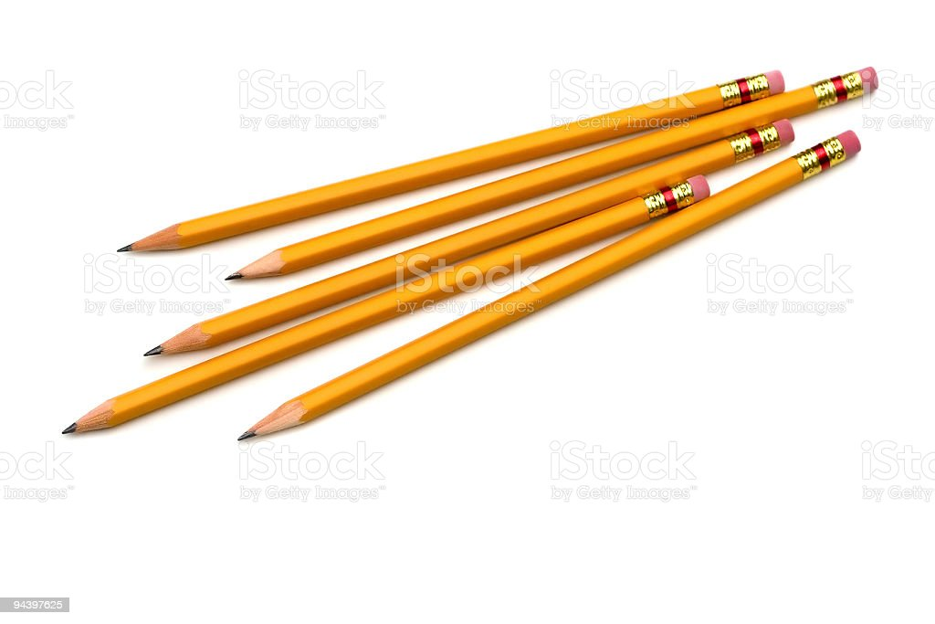 Group of Pencils royalty-free stock photo