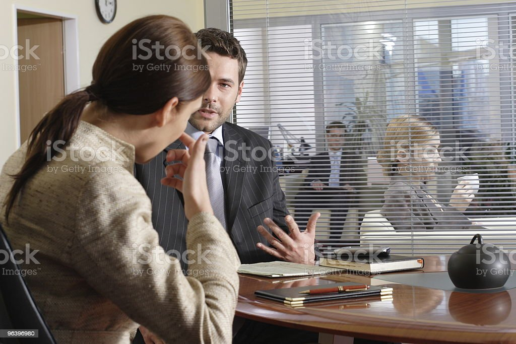 group of people in the office royalty-free stock photo