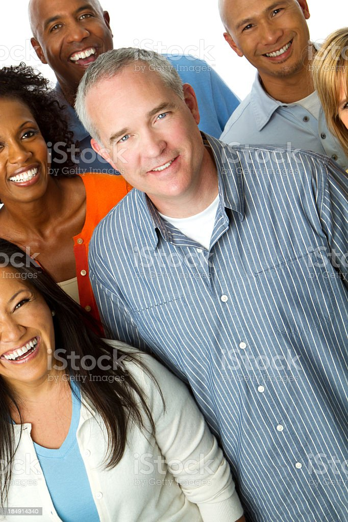 Group of People royalty-free stock photo