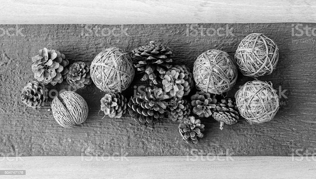 group of pine cone stock photo