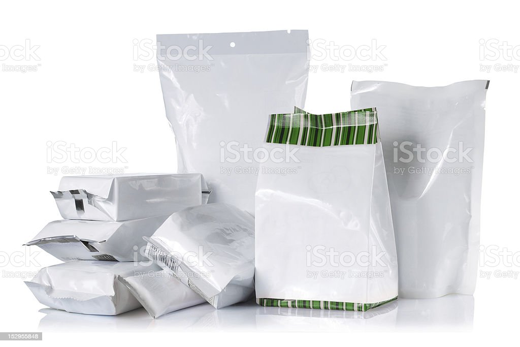 group of product pack stock photo