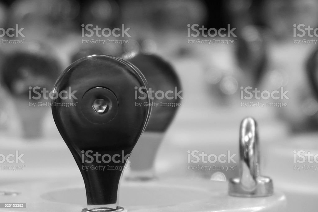 group of pulley stock photo