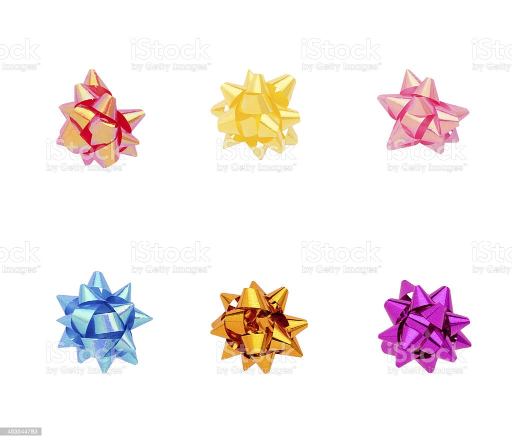 Group of ribbons royalty-free stock photo