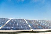 Group of solar panels