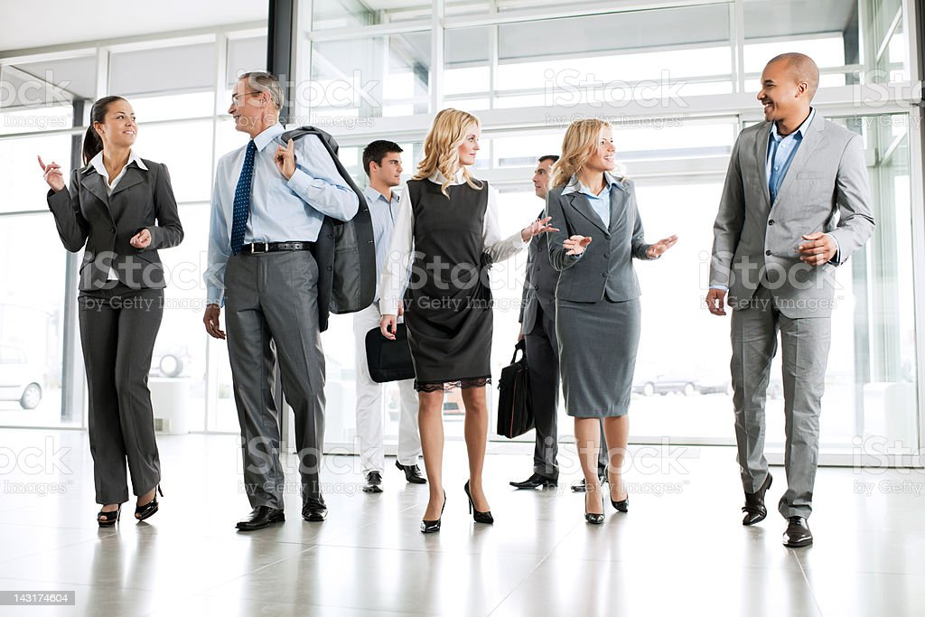 Group of successful businesspeople. royalty-free stock photo