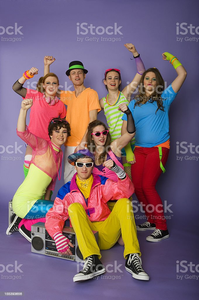 Group of Teens stock photo