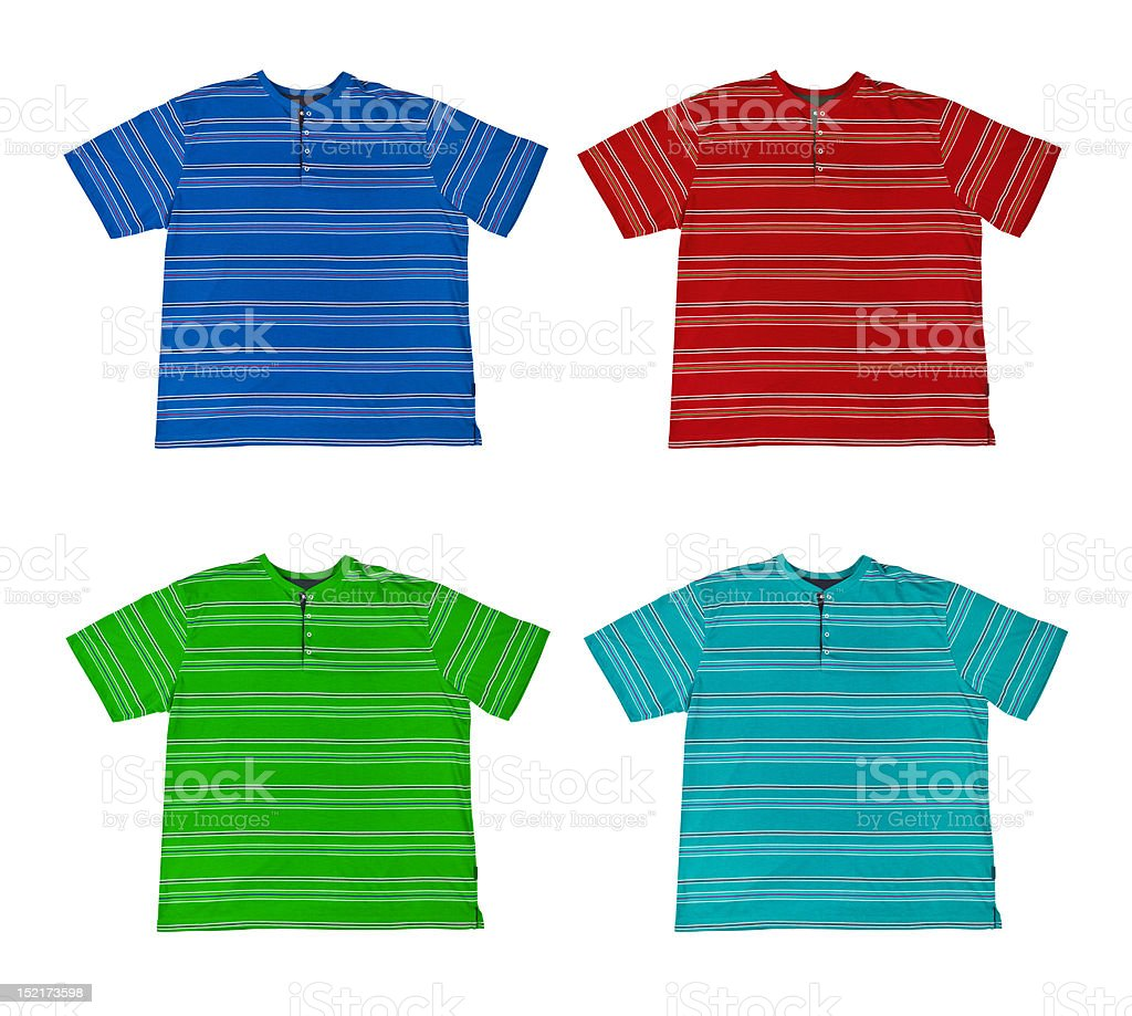 Group of t-shirt royalty-free stock photo