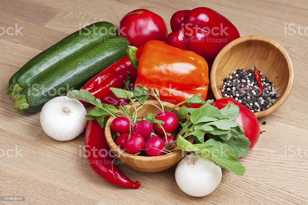 Group of vegetables royalty-free stock photo