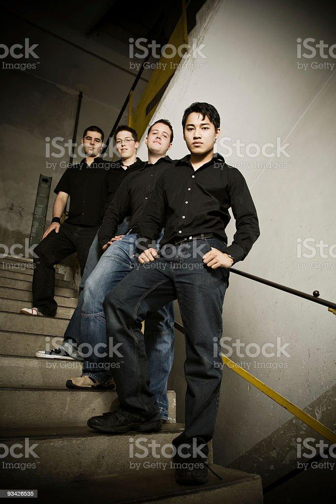 group portrait stock photo