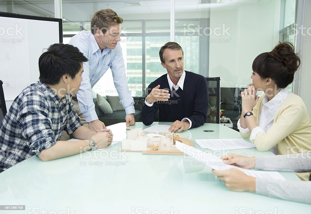 Group Project stock photo