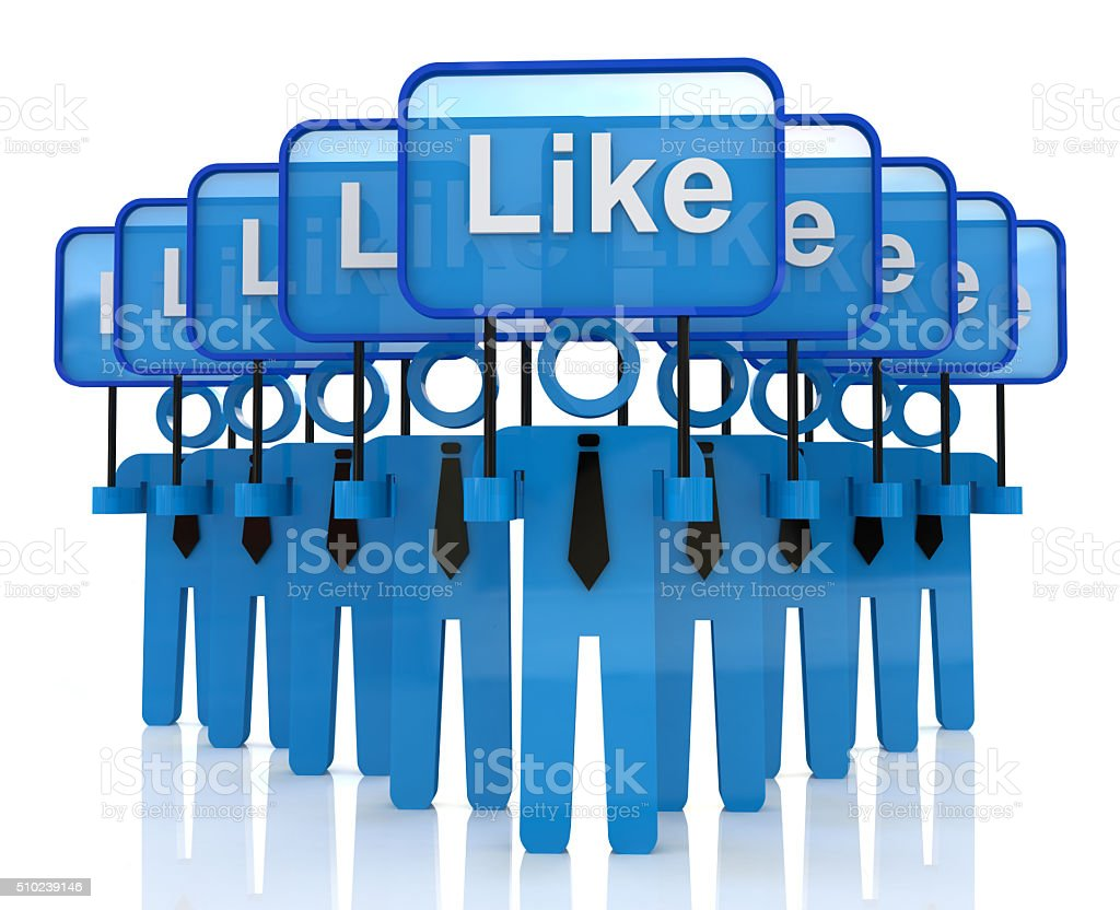 Group social media networks stock photo