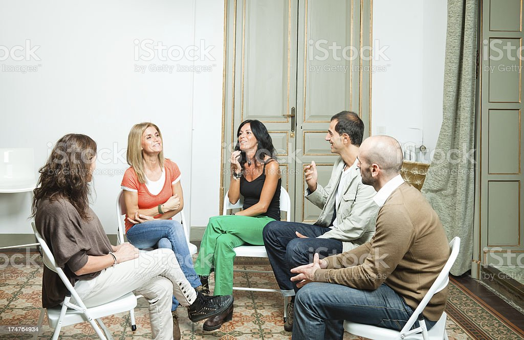 Group Therapy stock photo