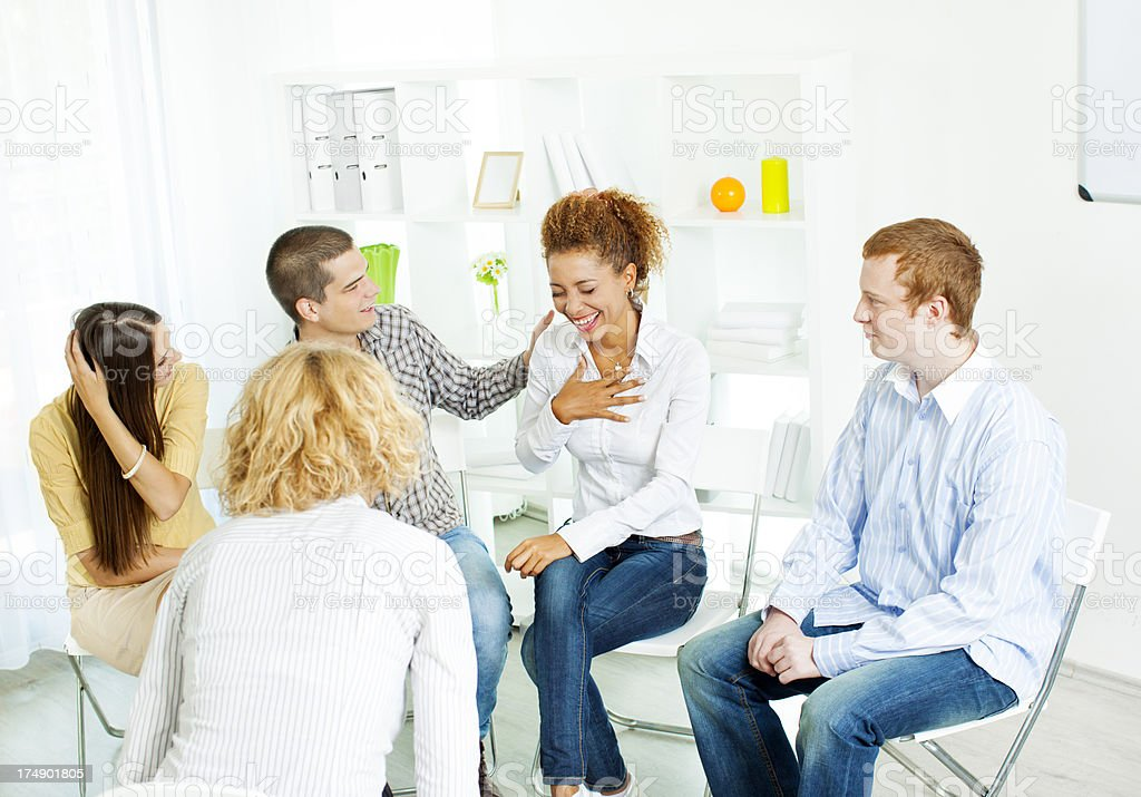 Group Therapy. royalty-free stock photo