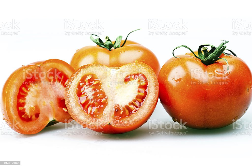 group tomatoes royalty-free stock photo
