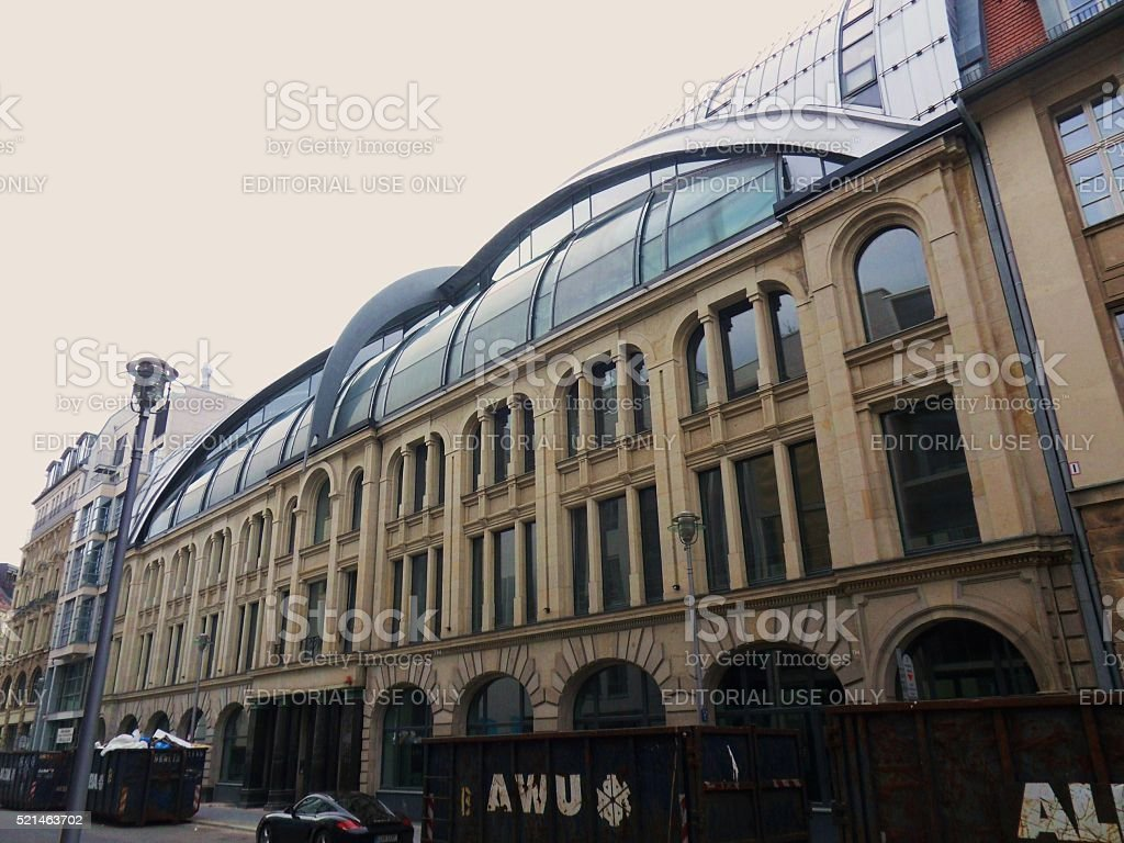 Groupon Center Berlin stock photo