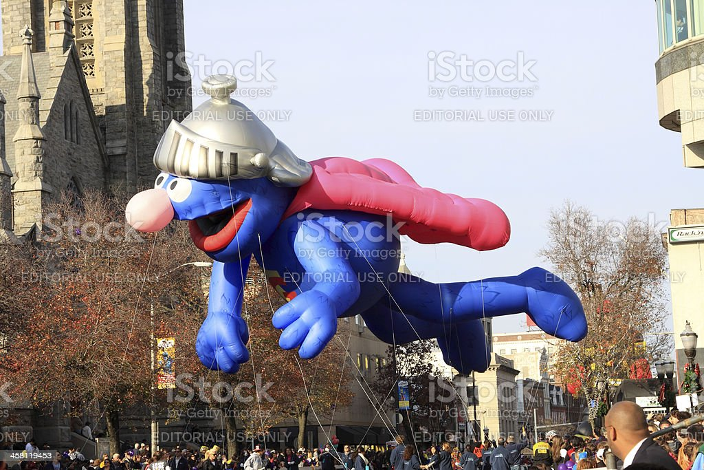grover flying royalty-free stock photo