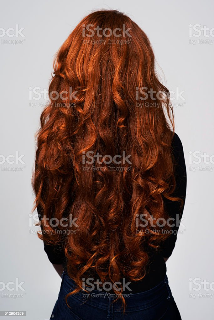 Grow it long and strong stock photo