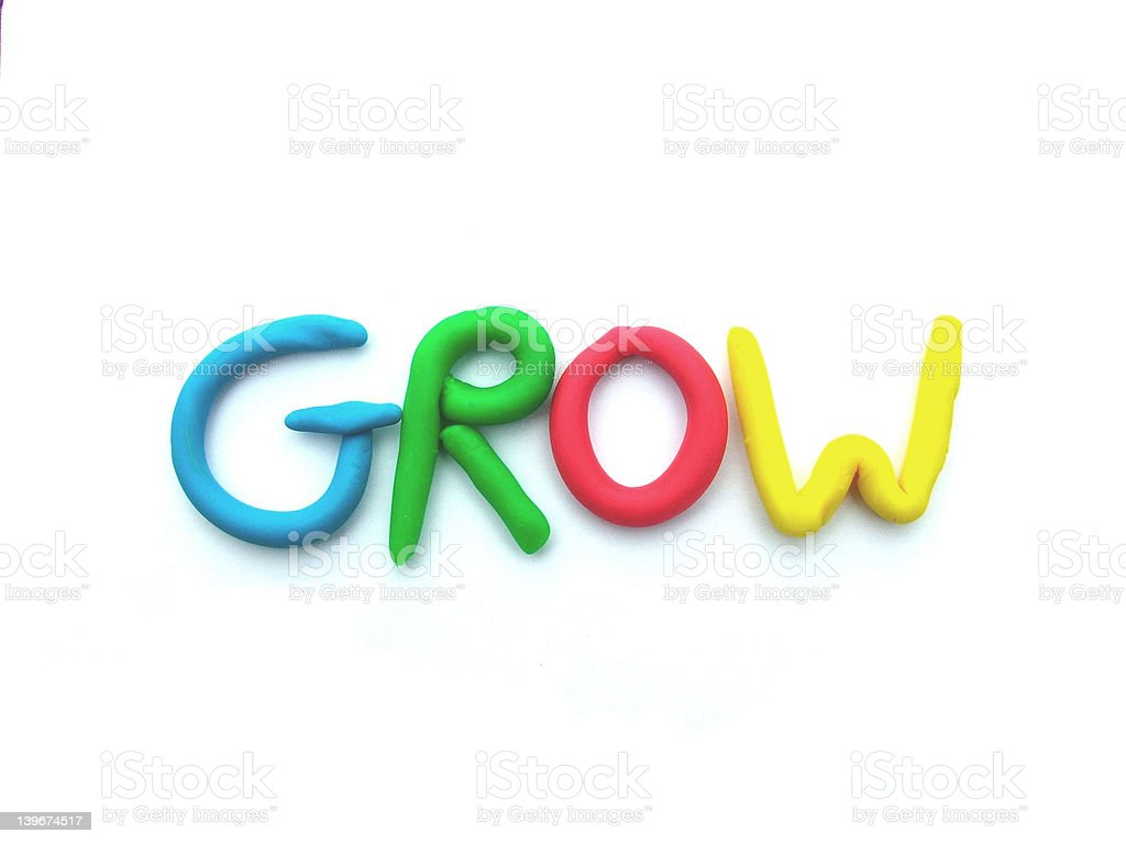 Grow royalty-free stock photo