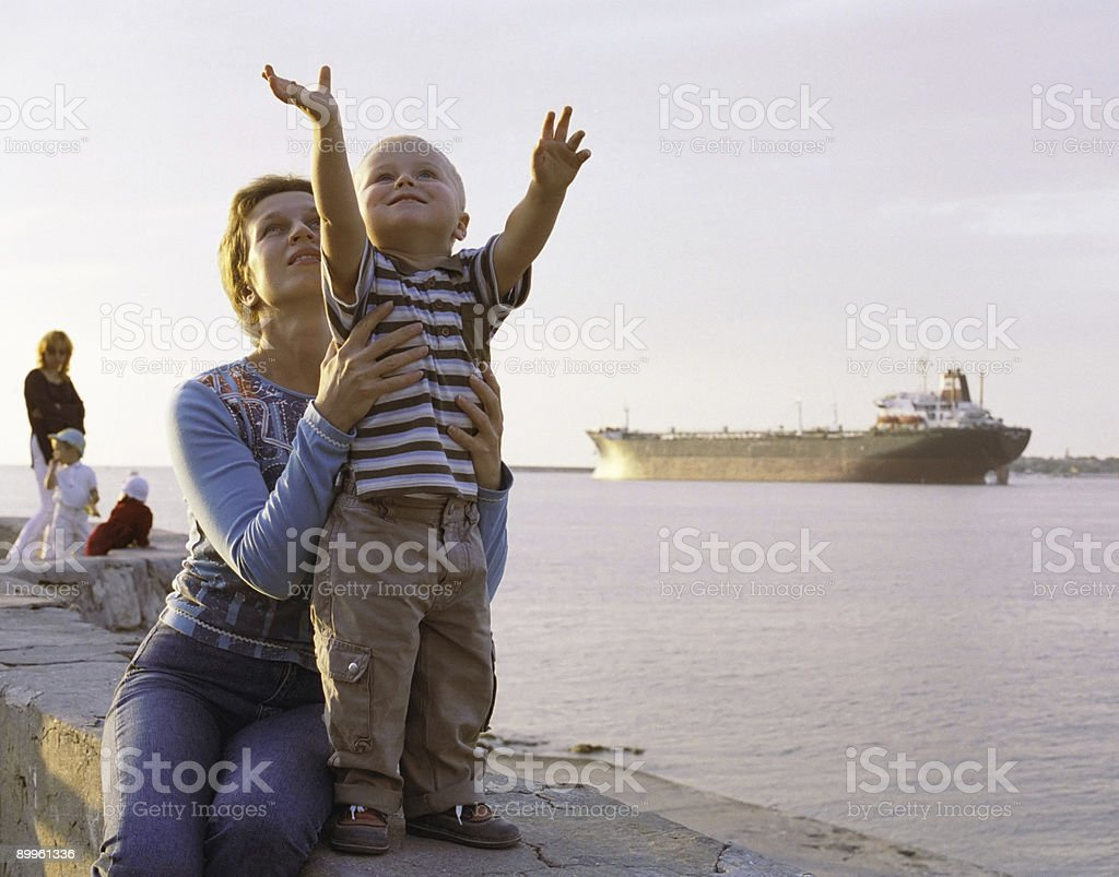 Grow up boy! royalty-free stock photo