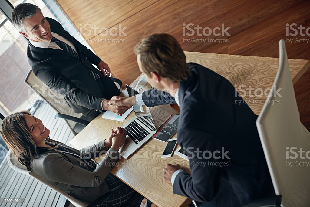 Grow your connections, grow your business stock photo