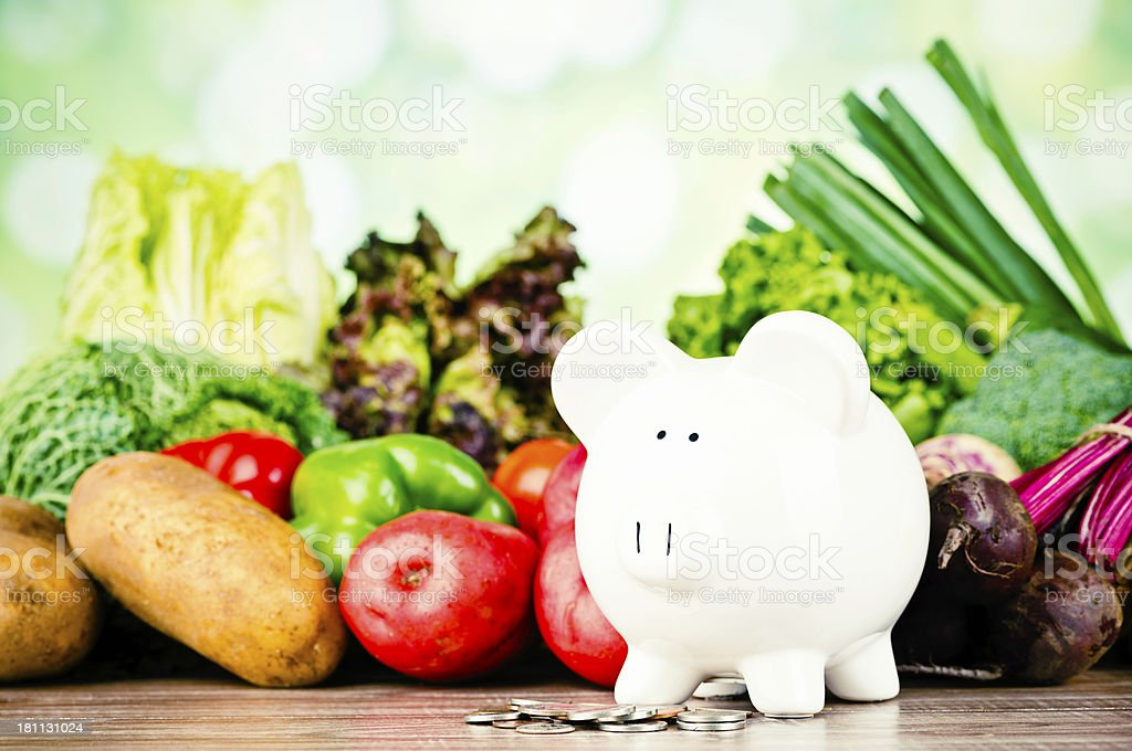 Grow Your Own Vegetables and Save Money royalty-free stock photo
