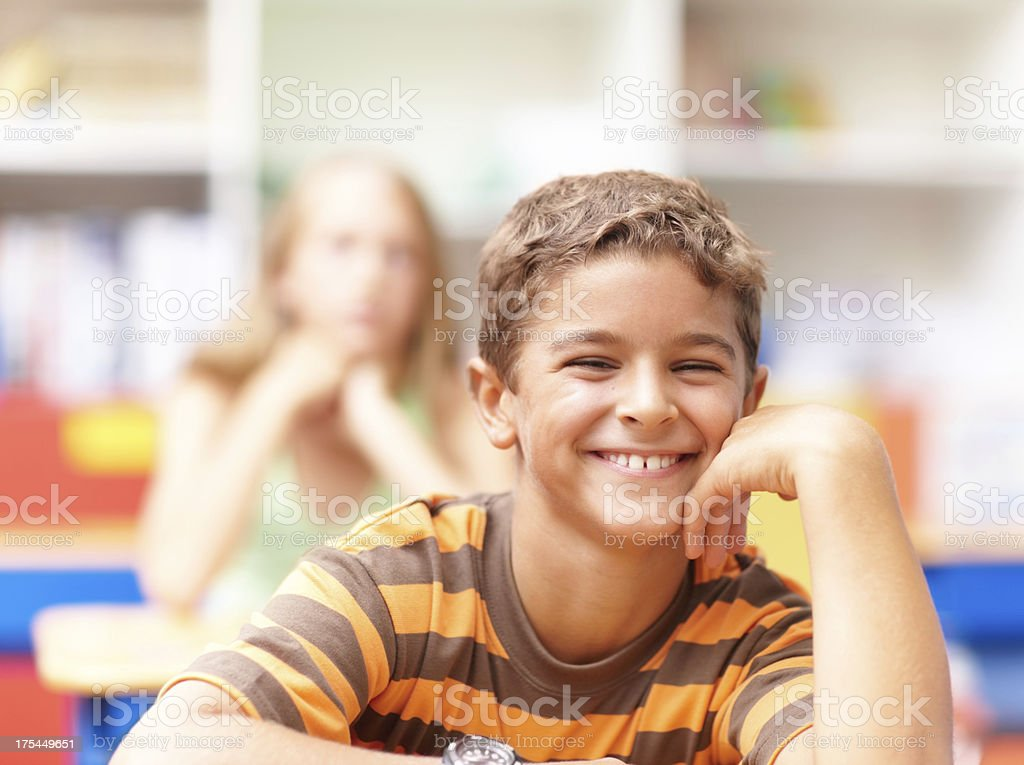 Growing healthy young minds royalty-free stock photo